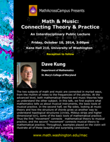 Dave Kung MathAcrossCampus poster
