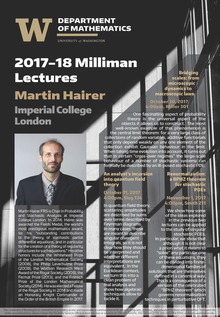 2017-18 Milliman Lectures