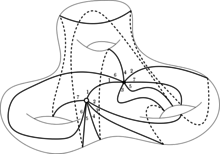 A quasiplatonic surface of genus three with a regular dessin d'enfant with a cyclic seven group of automorphisms.