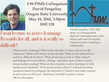 David Pengelley, Oregon State University