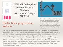 UW-PIMS Colloquium: Jordan Ellenberg