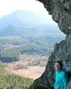 Hiking at Rattlesnake Ridge, just outside Seattle.