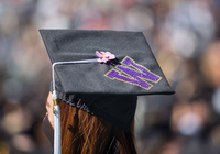 graduation cap photo by Dennis Wise © 2015 University of Washington