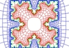 Zipper algorithm approximation of a snowflake fractal curve