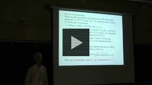 YouTube link to UW-PIMS Mathematics Colloquium (February 22, 2013)