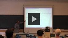 YouTube link to UW-PIMS Mathematics Colloquium (October 2, 2015)