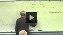 YouTube link to UW-PIMS Mathematics Colloquium (November 6, 2009)