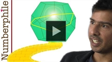 YouTube link to A New Discovery about Dodecahedrons - Numberphile