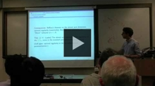 YouTube link to UW-PIMS Mathematics Colloquium (January 25, 2013)