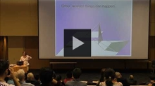 YouTube link to MathAcrossCampus (Annalisa Crannell, Franklin & Marshall College)