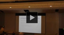 YouTube link to MathAcrossCampus (Irit Dinur, The Weizmann Institute of Science)