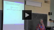 YouTube link to UW-PIMS Mathematics Colloquium (May 18, 2012)