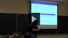 YouTube link to UW-PIMS Mathematics Colloquium (November 8, 2011)