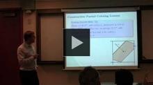 YouTube link to UW-PIMS Mathematics Colloquium (February 1, 2013)