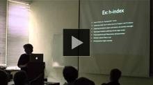 YouTube link to UW-PIMS Mathematics Colloquium (March 20, 2013)